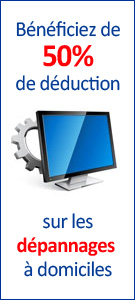 depannage informatique 50% deduction fiscal et credit d'impots