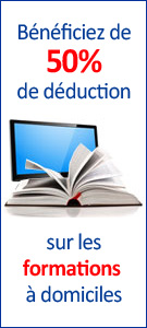 formation informatique 50% deduction fiscal et credit d'impots